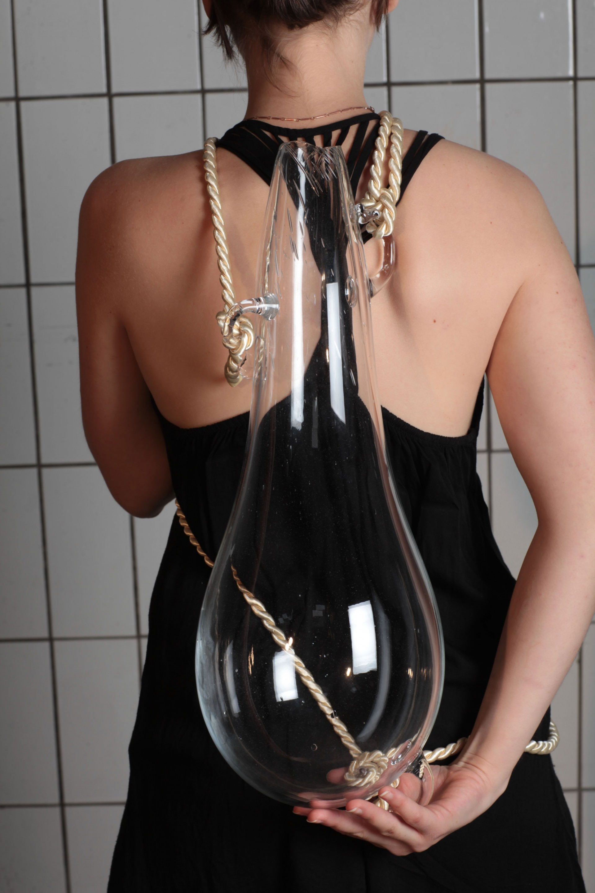 Milena Naef Glass Backback