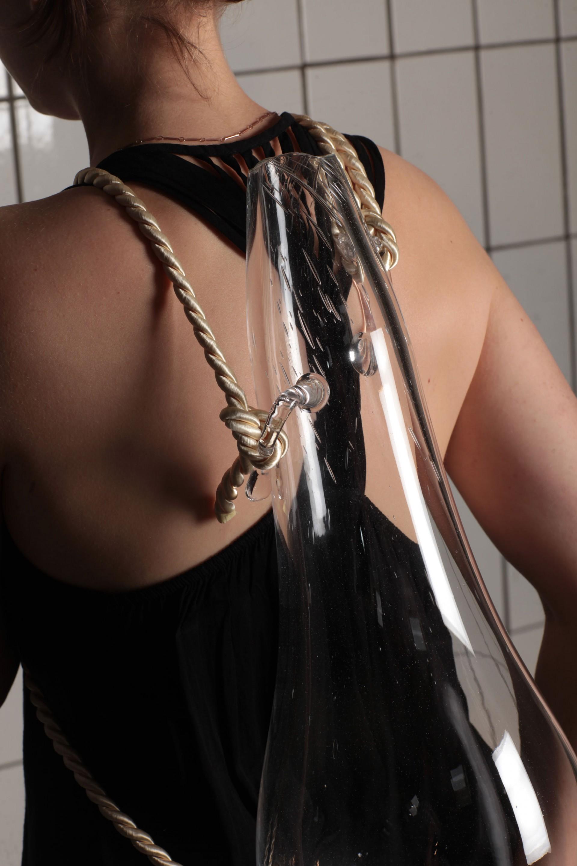 Milena Naef Glass Backback